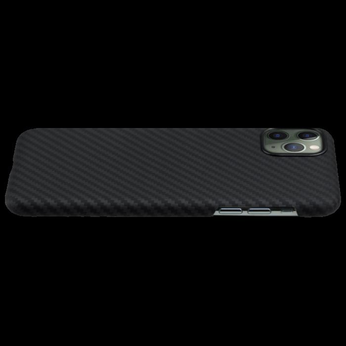 Husa fibra Aramida Potaka MagSafe IPhone 11 Pro Max Twill 1