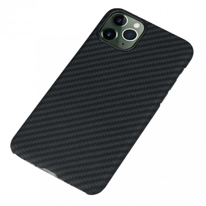 Husa fibra Aramida Potaka MagSafe IPhone 11 Pro Max Twill 3