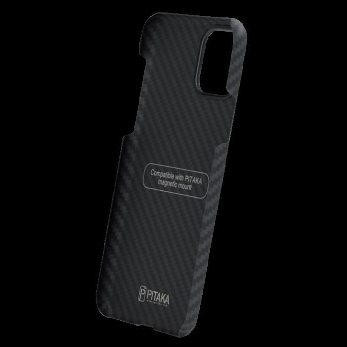 Husa fibra Aramida Potaka MagSafe IPhone 11 Pro Max Twill 4