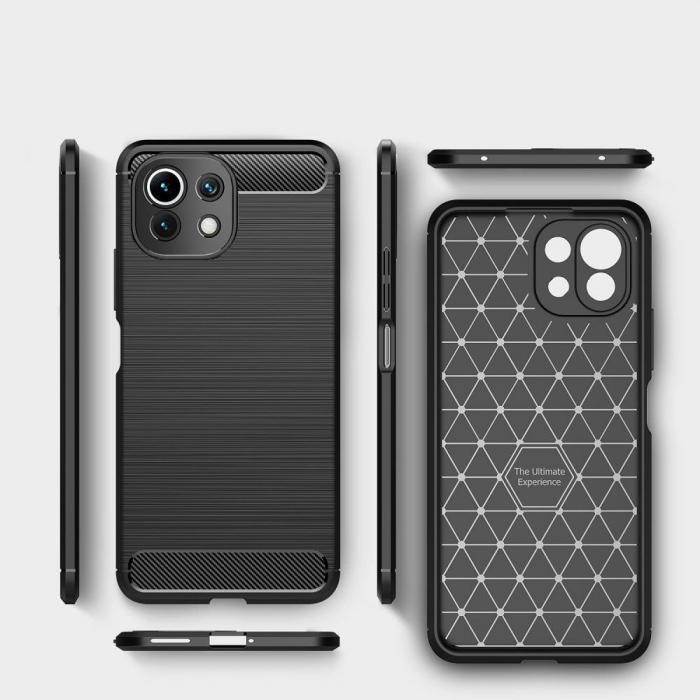 Husa Tech-Protect Carbon Xiaomi Mi 11 Lite [2]