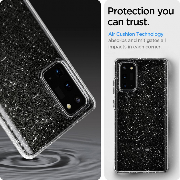 Husa Spigen Liquid Crystal Samsung Galaxy Note 20 Glitter [9]