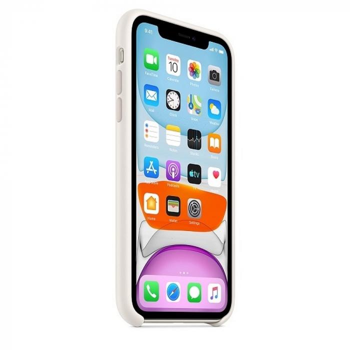 Husa Originala Silicone Case APPLE iPhone 11 Pro Max alb 1