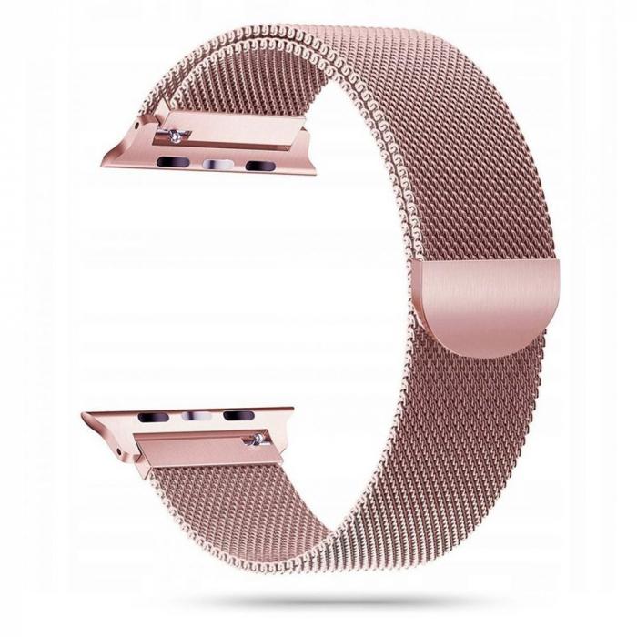Curea otel inoxidabil Tech-Protect Milaneseband Apple Watch 38/40mm rose gold [0]