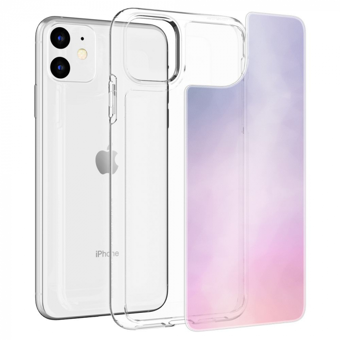 Husa Spigen Crystal Hybrid Quartz IPhone 11 Gradation [1]