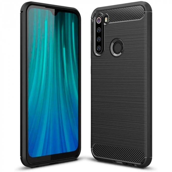 Husa Tech-Protect TPU carbon Xiaomi Redmi Note 8T [0]