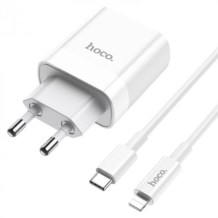Incarcator retea Hoco C80A, USB/USB-C, Quick Charge 3.0, Power Delivery 20W [1]