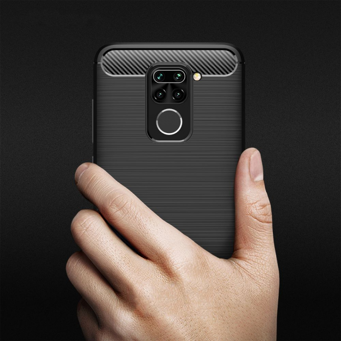 Husa Tech-Protect TPU carbon Xiaomi Redmi Note9 [3]
