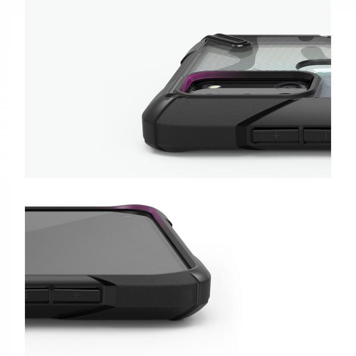 Husa Ringke Fusion X Samsung Galaxy A21s camo [4]