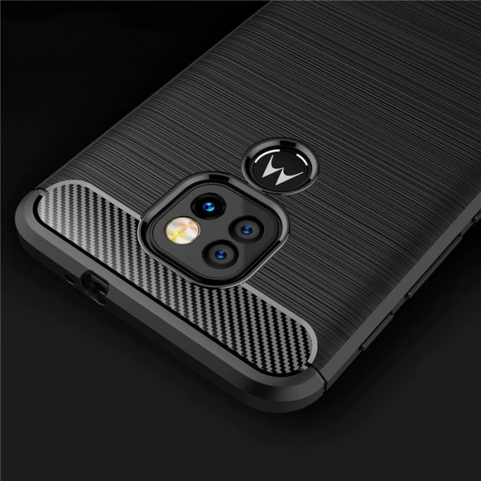 Husa Tech-Protect TPU Carbon Motorola Moto G9 Play/E7 Plus [3]