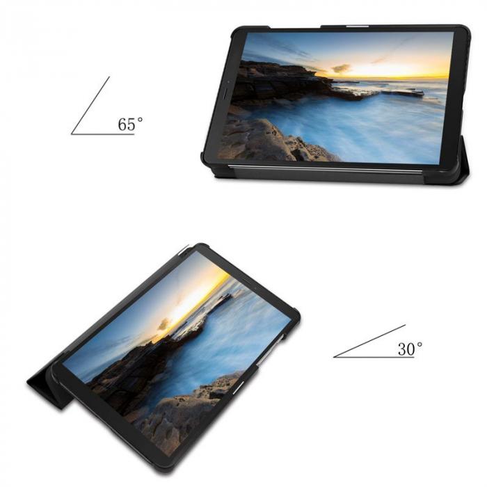 Husa Tech-Protect Smartcase Samsung Galaxy Tab A 8.0 inch T290/T295 Black 4