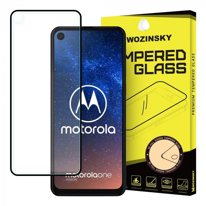 Folie Wozinsky Tempered Glass Full Glue Motorola Moto One Vision/P50 0