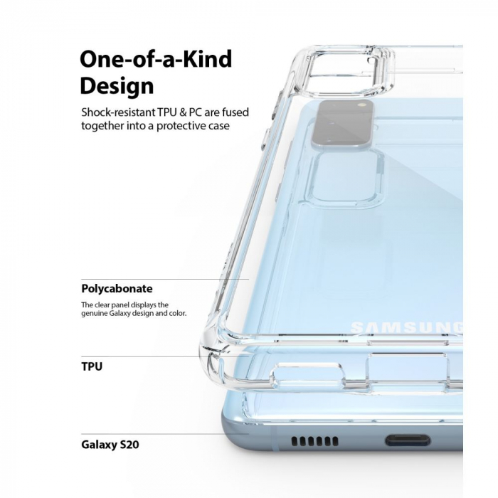 Husa Ringke Fusion Samsung Galaxy S20 [2]