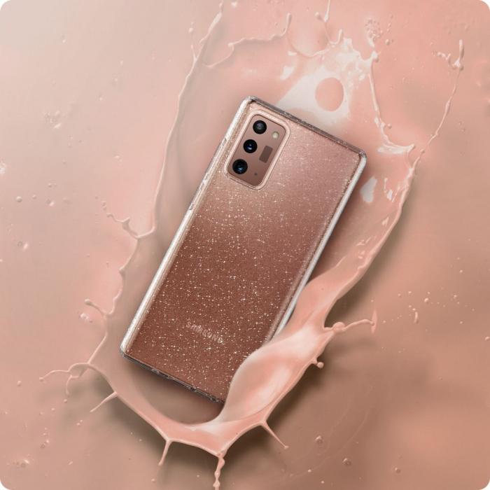 Husa Spigen Liquid Crystal Samsung Galaxy Note 20 Glitter [3]