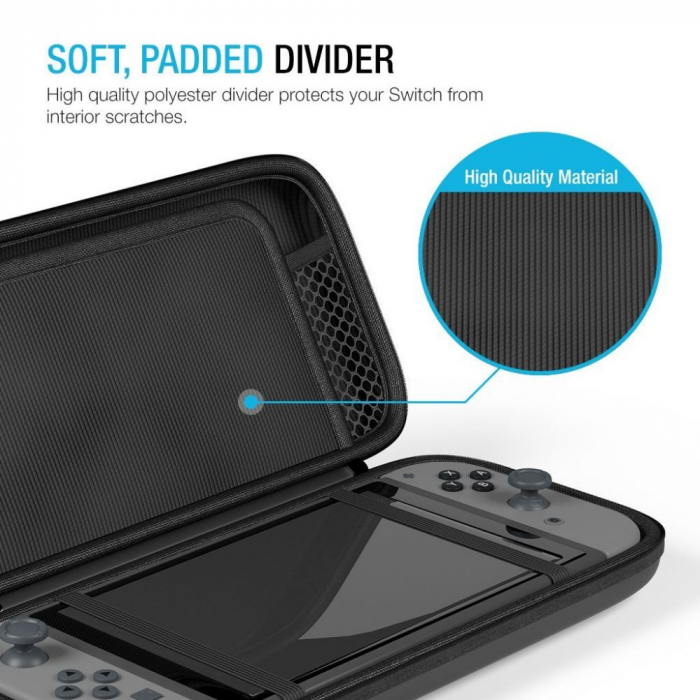 HUSA TECH-PROTECT HARD POUCH NINTENDO SWITCH  3