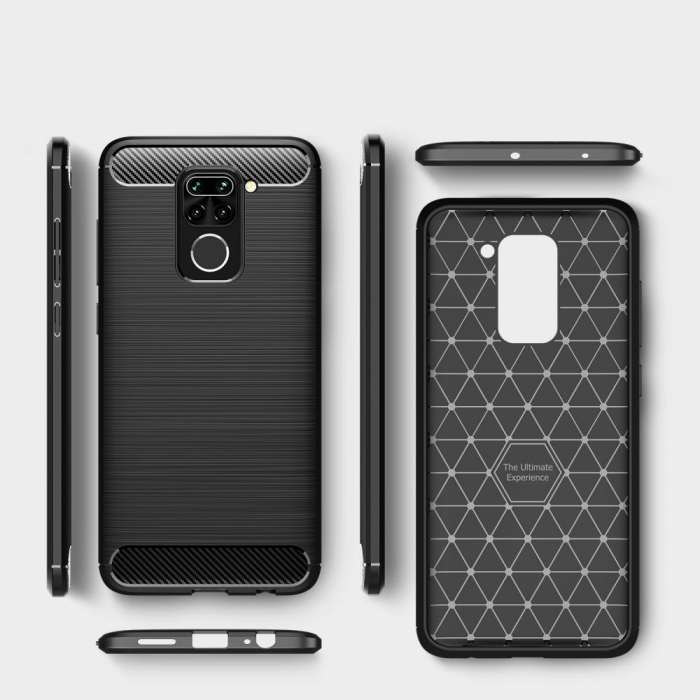 Husa Tech-Protect TPU carbon Xiaomi Redmi Note9 [0]