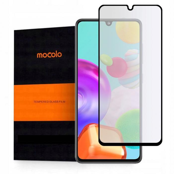Folie sticla Mocolo TG+ full glue Samsung Galaxy A41 [0]