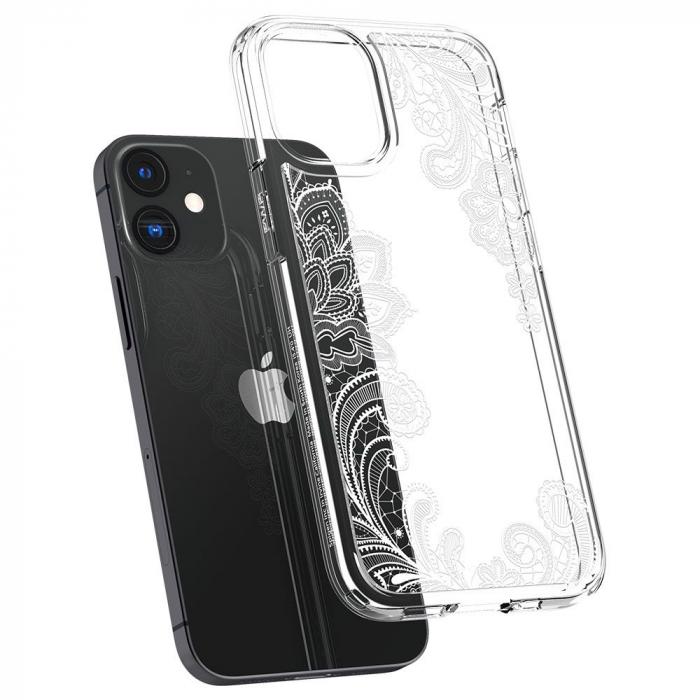 Carcasa Spigen Cecile iPhone 12 Mini White Mandala 4
