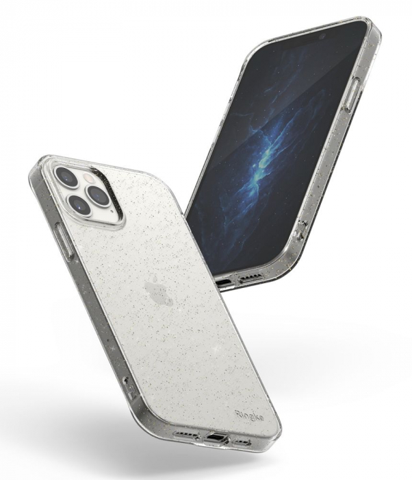 Husa Ringke Air IPhone 12/12 Pro glitter 4