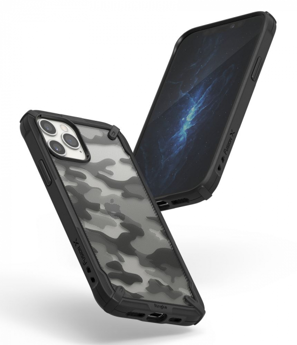 Husa Ringke Fusion X IPhone 12/12 Pro camo [4]
