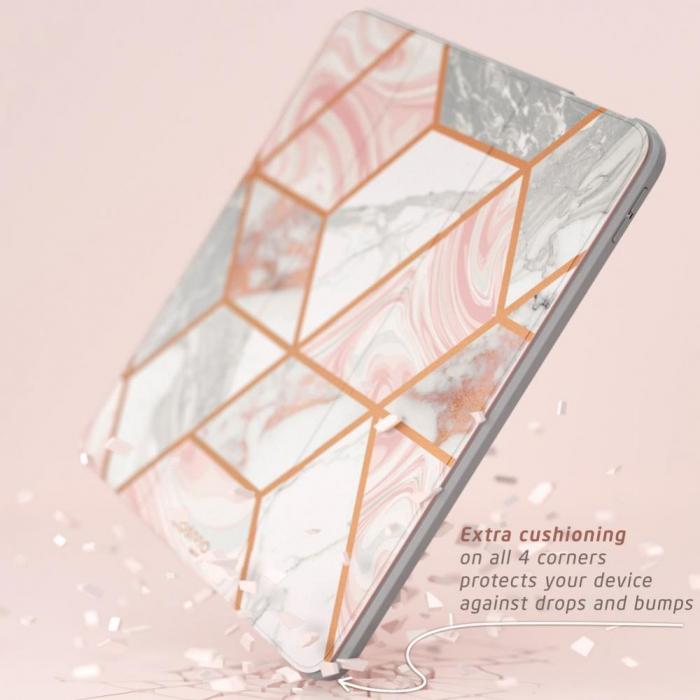 Husa Supcase Cosmo IPad Air 4 2020 cu protectie display Marble [3]