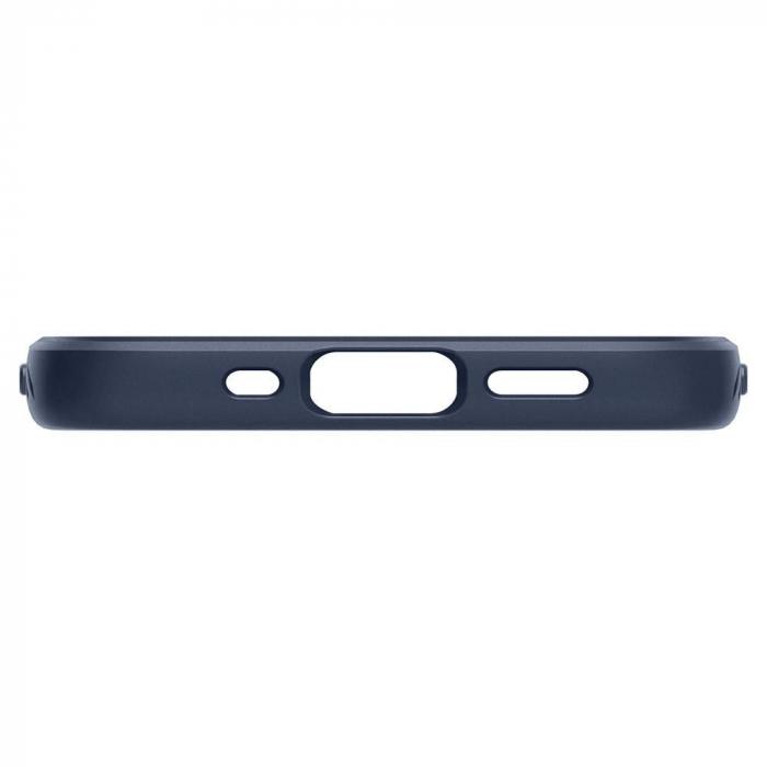 Carcasa Spigen Liquid Air iPhone 12 Mini Navy Blue 4