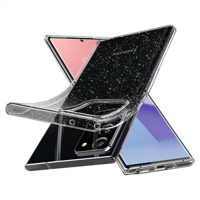 Carcasa Spigen Liquid Crystal Samsung Galaxy Note 20 Ultra Glitter Crystal 4