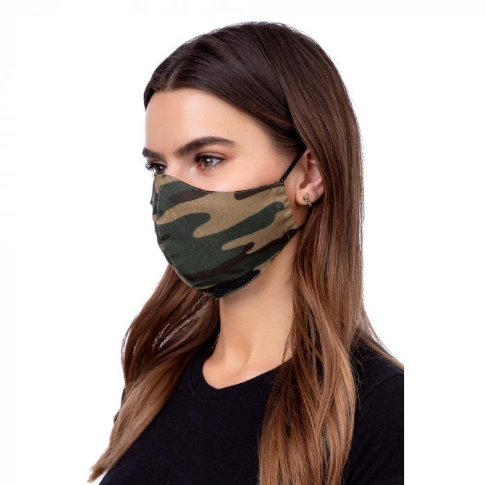Masca de protectie adulti din material textil reutilizabila bumbac 100% [1]