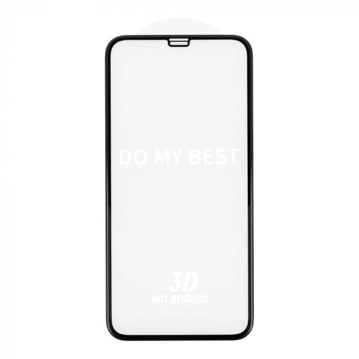 5D Mr. Monkey Glass - APP IPHO 11 Pro black (Hot Bending) 0