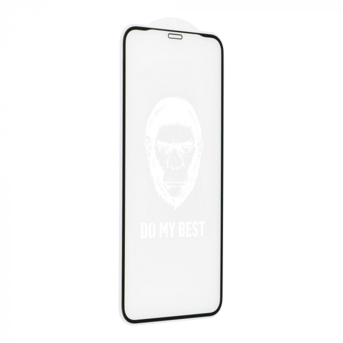 FOLIE STICLA 5D MR. MONKEY GLASS APPLE IPHONE XR STRONG HD 4