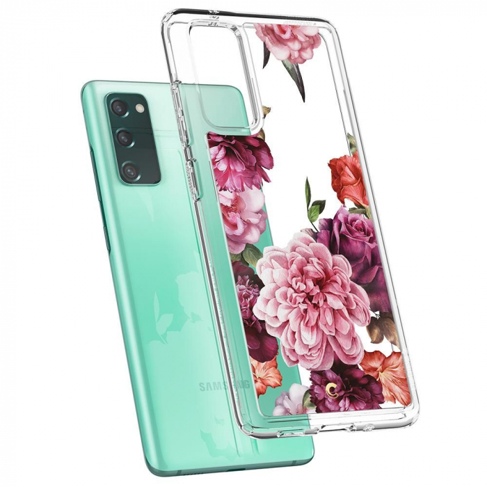 Husa Spigen Ciel Samsung Galaxy S20 FE Rose Floral [5]