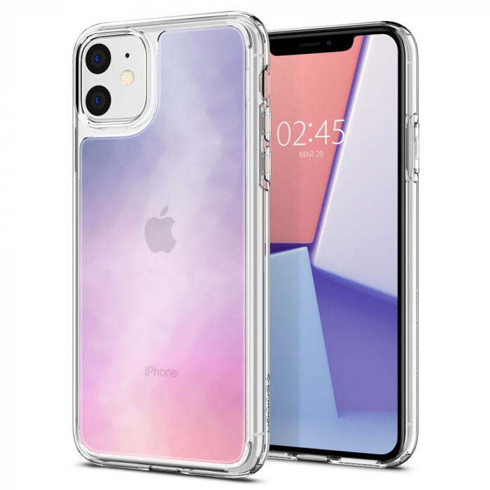 Husa Spigen Crystal Hybrid Quartz IPhone 11 Gradation [5]