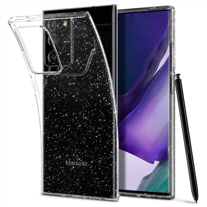 Carcasa Spigen Liquid Crystal Samsung Galaxy Note 20 Ultra Glitter Crystal 10