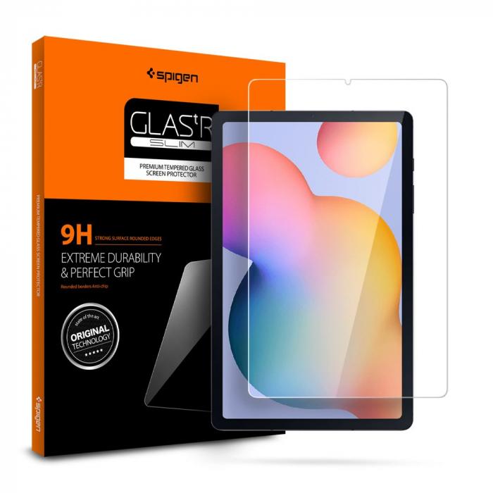 Folie sticla Spigen Glass Slim Samsung Galaxy Tab S6 Lite P610/P615 10.4 inch [0]