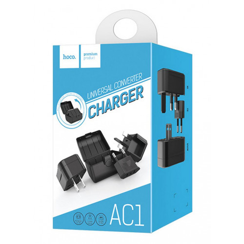 Adaptor Priza EU-UK-USA-AUS HOCO AC1 4