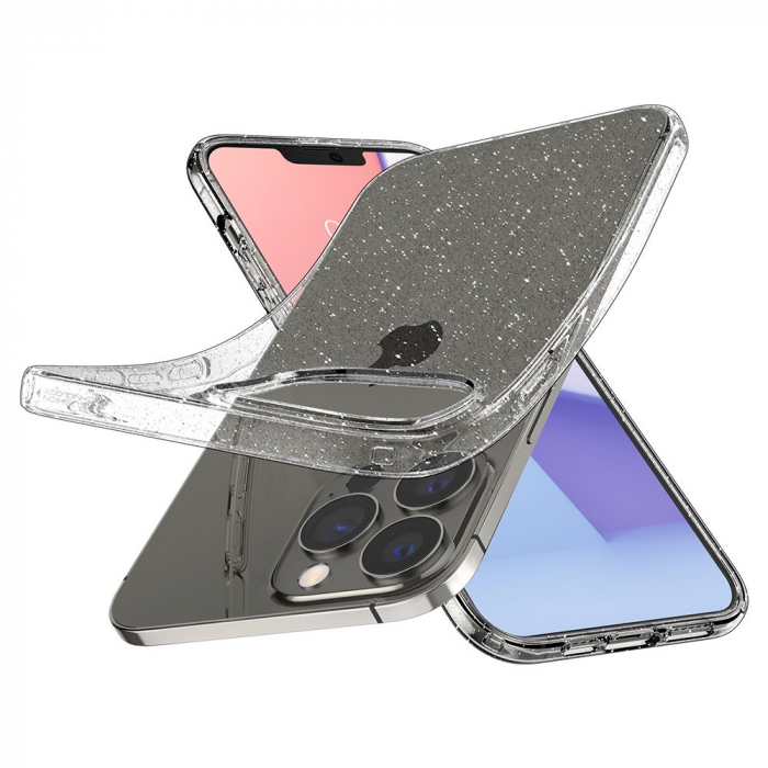 Husa Spigen Liquid Crystal IPhone 13 Pro Glitter [5]