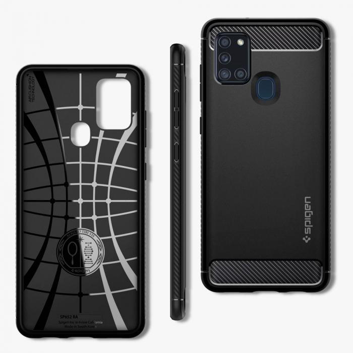 Husa Spigen Rugged Armor Samsung Galaxy A21s [6]