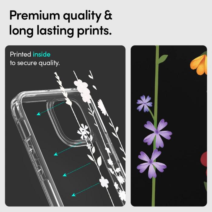 Husa Spigen Cecile IPhone 12 Mini Flower Garden [6]
