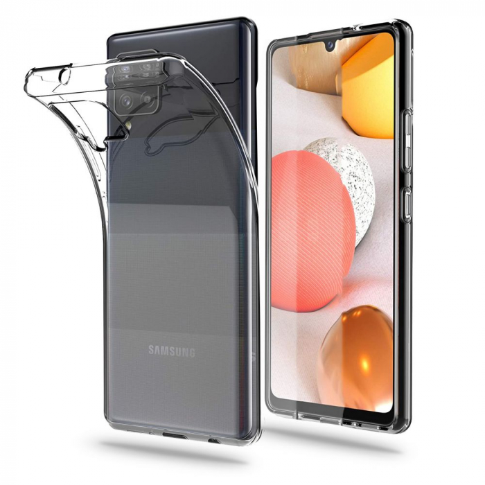 Husa Tech-Protect Flexair Samsung Galaxy A42 5G Crystal 0
