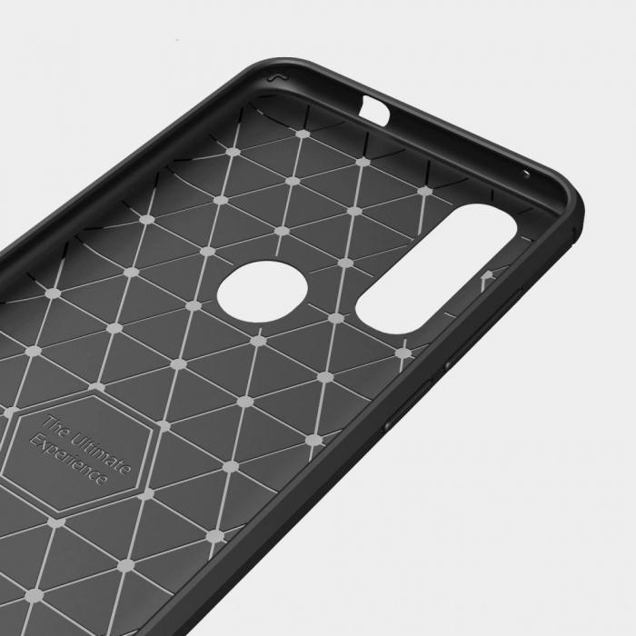 Husa Tech-Protect TPU carbon Motorola One Action [2]