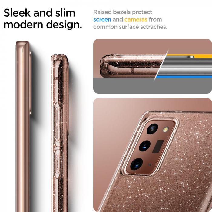 Husa Spigen Liquid Crystal Samsung Galaxy Note 20 Glitter [10]