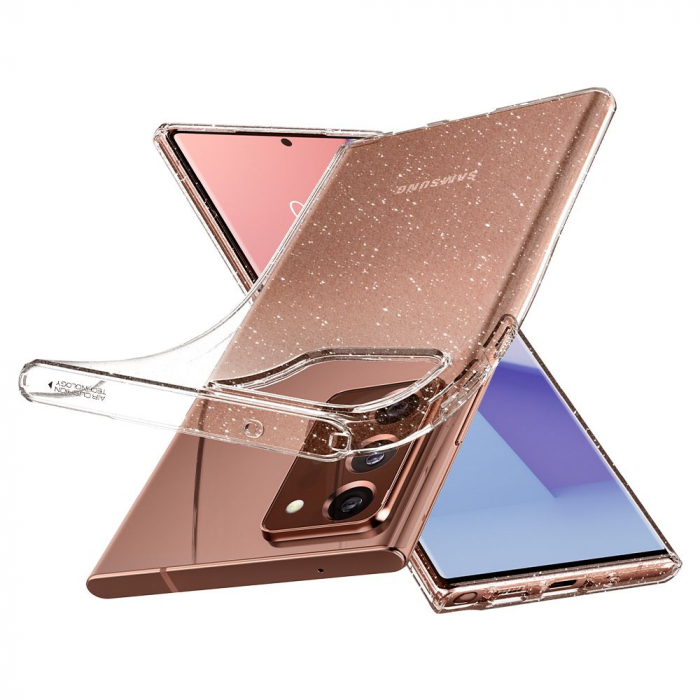 Carcasa Spigen Liquid Crystal Samsung Galaxy Note 20 Ultra Glitter Crystal 11