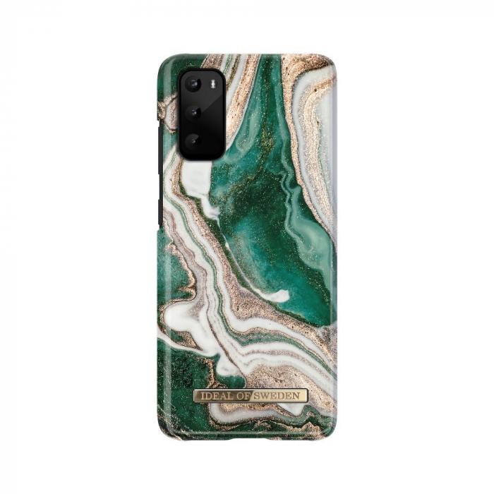 Husa Ideal Of Sweden Samsung Galaxy S20 Golden Jade Marble [0]
