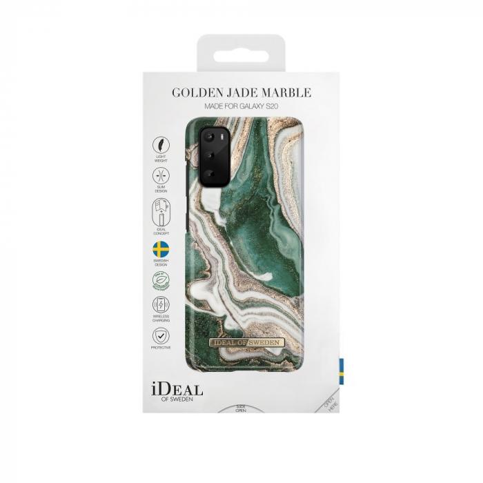 Husa Ideal Of Sweden Samsung Galaxy S20 Golden Jade Marble [1]