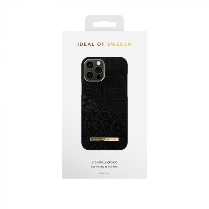 Husa Ideal Of Sweden IPhone 12 Pro Max Nightfall Croco [2]