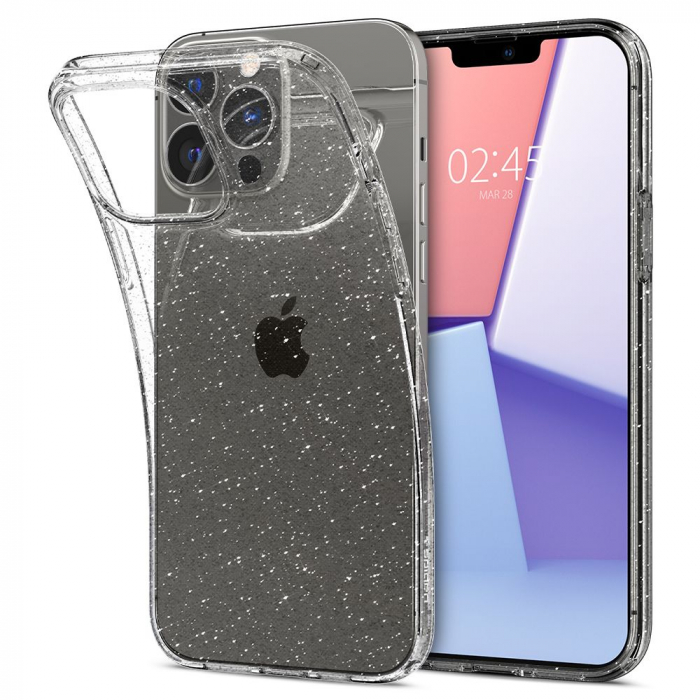 Husa Spigen Liquid Crystal IPhone 13 Pro Glitter [6]