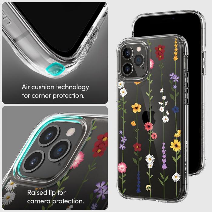 Husa Spigen Ciel IPhone 12/12 Pro Flower Garden [3]