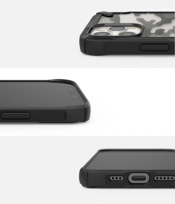 HUSA RINGKE FUSION X IPHONE 12/12 PRO CAMO BLACK 7