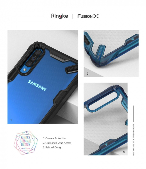 Husa Ringke Fusion X Samsung Galaxy A50/A30s 7