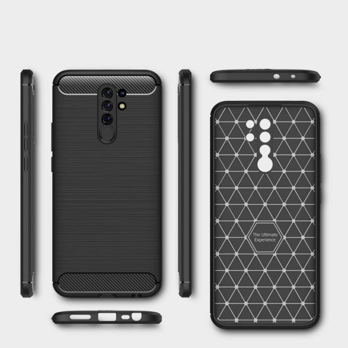 Husa Tech-Protect TPU carbon Xiaomi Redmi Note 9 [6]