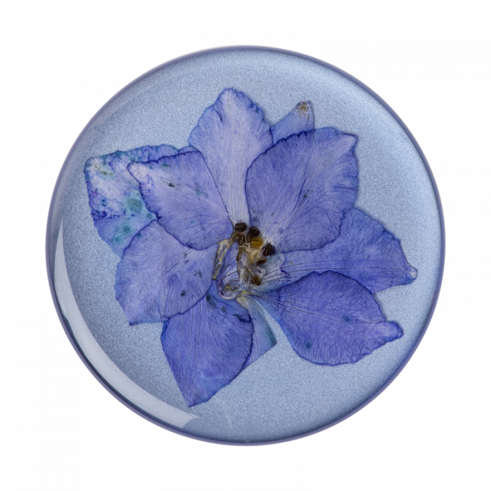 Suport stand adeziv universal Popsockets Pressed Flower Larkspur Purple [0]